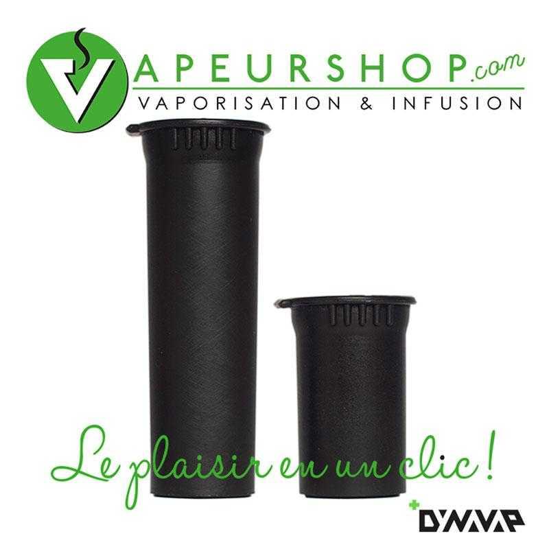 Dynavap snapstash petit et grand boite hermétique bouchon top pop VapeurShop