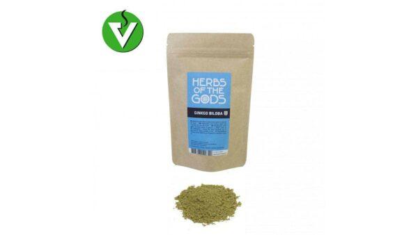 Ginko biloba en poudre 50g herbs of the gods