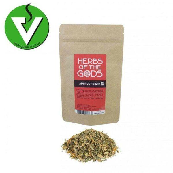 aphrodite mix mélange d'herbes aphrodisiaque herbs of the gods