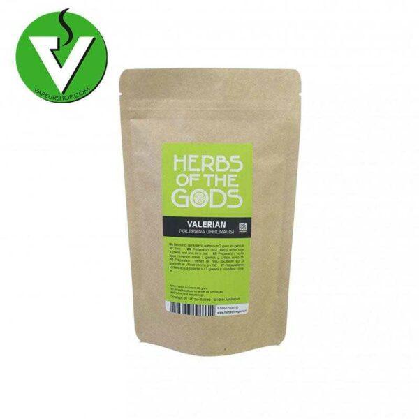 valeriane haché herbs of the gods (valeriana officinale) herbes à vaporiser et infuser vaporisation infusion Vapeurshop