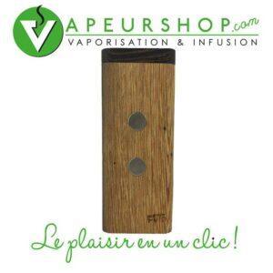 FutoStash XL G2 wengé rangement en bois précieux pour vaporisateur Dynavap VapCap VapeurShop