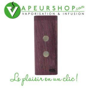FutoStash XL G2 PurpleHeart rangement en bois précieux pour vaporisateur Dynavap VapCap VapeurShop
