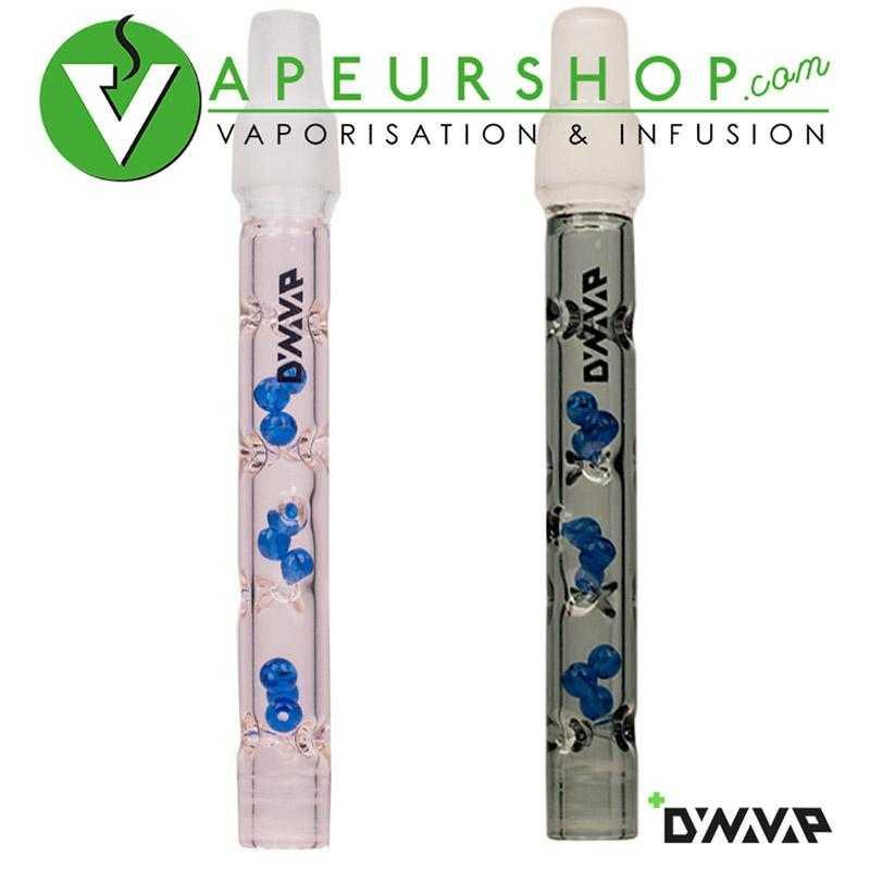 BB9 tige verre Dynavap original couleur pink et dark vaporisateur vacap verre adaptable bubbler VapeurShop