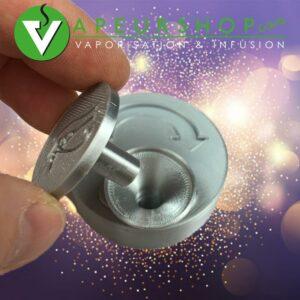 Entonnoir reload coin 10 silver recharge rapide MagHeater pour Dynavap VapCap VapeurShop