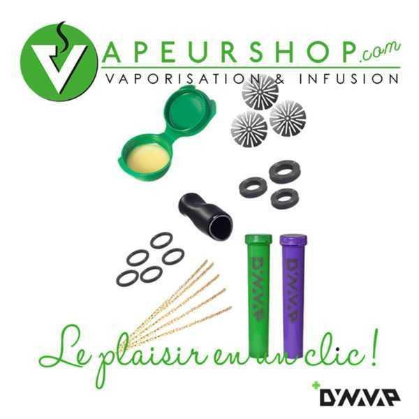 Dynavap DynaKit basic kit entretien VapCap VapeurShop