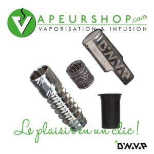 Dynavap cap coil et tip kit remplacement VapeurShop