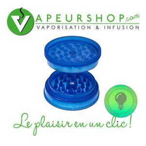 grinder mini fluorescent avec aimant pocket grinder VapeurShop