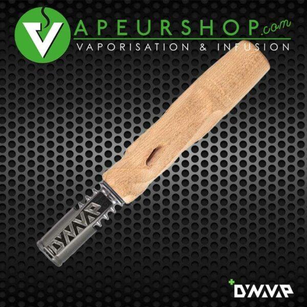 Hydra Vong Dynavap VapCap bois couleur clair vaporisateur VapeurShop
