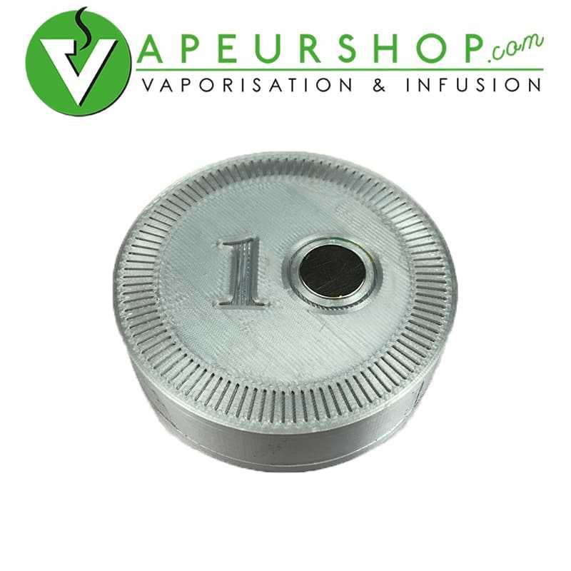 Reload coin 10 pour Dynavap silver token jeton 10 recharge rapide VapCap VapeurShop