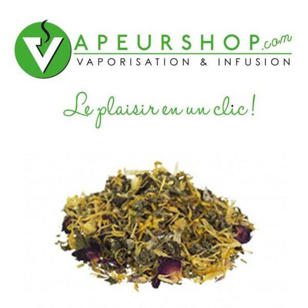 Tranquilitea thé relax et savoureux Herbs of the Gods VapeurShop