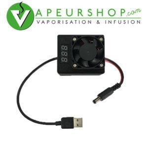 Chargeur usb induction heater MagHeater chauffage induction portable ecran controle VapeurShop
