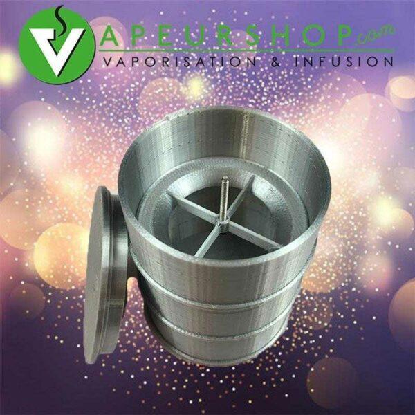 ABV Barrel Jar + Debowler pour VapCap Dynavap