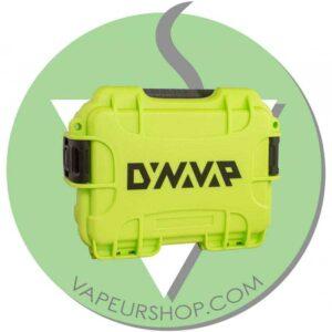 Dynavap Green Case Turtle rangement antichoc VapCap et accessoires VapeurShop