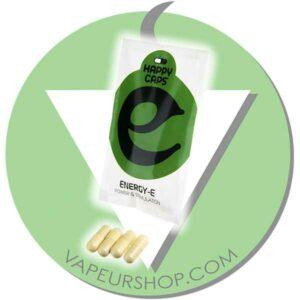 Happy Caps Energy-E capsules de plantes énergie max