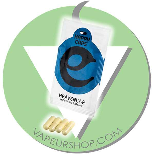 Happy Caps Heavenly-E capsules de plantes sédatives et relax