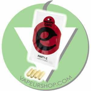 Happy Caps Party-E capsules de plantes pour la fête VapeurShop