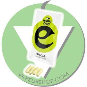 Happy Caps Space-E capsules de plantes pour la trance et l'énergie