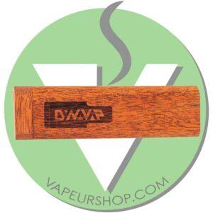 SlimStash Dynavap VapCap African Mahogany boite standard VapeurShop