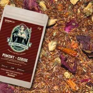 Infusion CBD Piment Cerise fruits secs et herbes à infuser