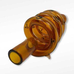 Spirale verre Orange pour Dynavap