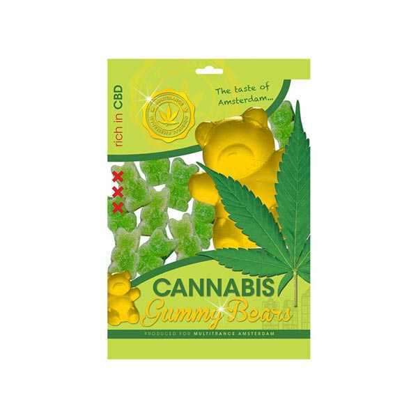 Bombons Ours CBD canna