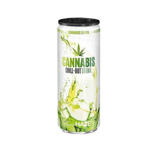Boisson Cannabis Sativa Haze énergisant CBD