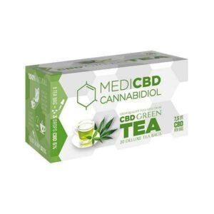 Infusion CBD Thé vert Cannabidiol MediCBD